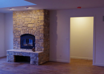 Transitional Farmhouse | Fireplace | Eureka, MO