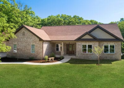 Transitional Craftsman Ranch | Exterior Front | Wildwood, MO